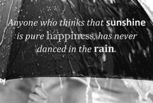 ☂ What a sensation! It's raining! ☂