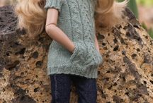 Dolls - Kish  Chrysalis Knitting