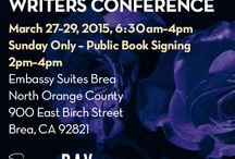 2015 Conference / Images and memories of our second conference in 2015! / by California Dreamin' Writers