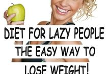 Diet for lazy people