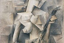 Cubism / Cubism (1908-1920), Europe - Cubism was developed between about 1908 and 1912 in a collaboration between Georges Braque and Pablo Picasso. The key concept underlying Cubism is that the essence of an object can only be captured by showing it from multiple points of view simultaneously.