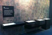 EKO lavabi in gres porcellanto / Nuova collezione di lavabi in gres presentata al Cersaie 2015