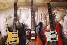 Lefty Guitars/Basses / Celebrating South Paws
