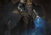 Fantasy: warlocks