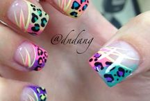 Nails - Multicolored designs / For those designs with no dominant color