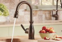 What Faucet Finish Fits Your Style? / Kitchen and bath faucets come in a variety of finishes, but which one matches your style best? / by eFaucets.com .