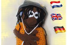 haken, crochet, häkeln, amigurumi, doll, puppe, pop, / Haakpatronen, crochetpatterns, amigurumi doll patterns, puppe häkeln, amigurumi häkelanleitungen