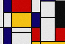 Mondrian / paintings