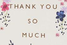 Ευχαριστήρια