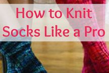 Knit Socks and Slippers