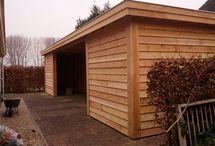 Tuinhuis / Tuinhuis op maat gemaakt van hout. www.vanviegen.com