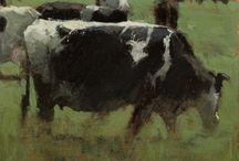 eläin maalauksia