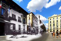Ramon Oria / Fotografo spagnolo che, per l'anniversario della Città di Madrid, ha voluto rendere omaggio con un progetto.