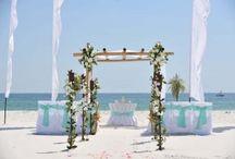 A Mint Green Beach Wedding / Big Day Weddings, Mint Green wedding theme, Orange Beach Alabama, Gulf Shores Alabama, Gulf Coast Weddings, Alabama Beach Weddings, Beach Weddings, Color Schemes, Wedding Themes