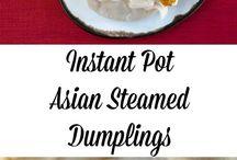 Vegane Rezepte für Instant Pot und Schnellkochtopf / Vegane Rezepte für den Instant Pot (Multifunktionskocher mit Schnell- & Niedriggarfunktion) oder den klassischen Schnellkochtopf.