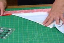 Mitring corners on quilts