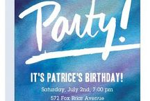 Birthday Party Ideas / Use these ideas to throw the best birthday party ever--or save them for your own bash!   We use our birthday party invites as inspiration for themed parties--we'll be adding to this board, so stay tuned and party on! / by Paper Source