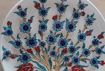 Çini boyama