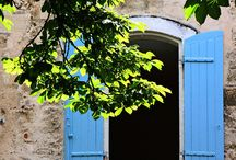 Provencal Blue / Beautiful shades of blue from around the world, not just Provence.  How can I incorporate this color scheme into my house? / by Trish Saylor