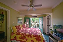 Garden Rooms / The Guest Rooms on the Garden Floor can combine to make a three-room family suite by opening connecting doors each has its own private lanai. The fragrances both inside and out of these garden rooms are tantalizing.