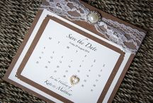 Wedding Stationery - Country Elegance Collection / Our handmade rustic country style Country Elegance collection is printed on extra smooth card backed with beautiful texture kraft card and decorated with a truly stunning rhinestone pearl cluster embellishment, excellent quality lace, high quality diamante embellishments and hessian. www.serendipityweddingdesign.co.uk
