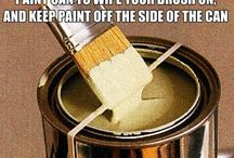 Painting the house / Interior painting tool, tips, and ideas