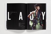 editorial design - magazines