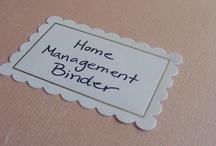 [home management binder]
