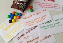 kreatiewe gebed / prayer stations for youth and creative prayer ideas