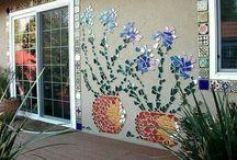 Mozaic wall