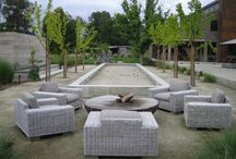 Back Yard Landscape Courtyard Outdoor