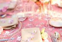 Tablescapes, Pink. Indian Weddings Magazine / Indian Weddings Inspirations: Pink Tablescapes