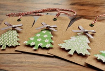 CHRISTMAS Papercraft / by Kath