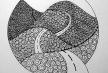 ZENTANGLE kresby