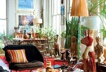 Style Decor: Ethnic   Boho / Ethnic decor, boho decor, global decor, global living, bohemian style living, global home decor, boho interiors, natural home, bohemian lifestyle, collected interiors, collected home decor