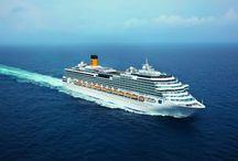 Plavby lodi Costa Pacifica