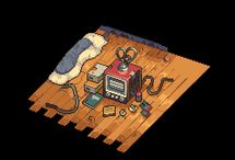 pixel A ( room )