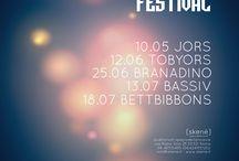 POSTER / festival musica elettronica