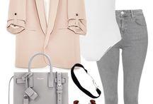 Moda amb texans grisos