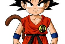Kid Goku / Gathering reference for a 3D goku sculpt I am going to texture