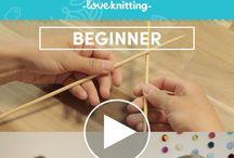 Knitting Video Tutorials