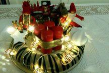 Advent wreath / TiHanna's DIY Advent wreath