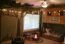 Camping bedroom