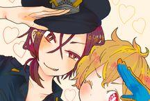 Rin & Nagisa