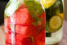 Infused waters / Loving these natural vitamin waters.