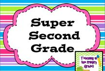 Super Second Grade / Super second grade teaching ideas.  Pinners please pin only one paid product for every 4 ideas/freebies or you will be deleted!