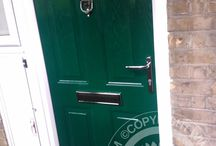 Green Front Doors / Green Front Doors, a firm favourite of our customers heres a selection of the best in Green Composite Doors and Green front doors. With new manufacturing techniques and our Solidor Timber Composite Doors, we combine traditional style with modern technological advances