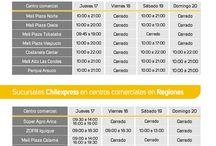 Sucursales Chilexpress / Información sobre el funcionamiento de nuestras sucursales en todo el país.