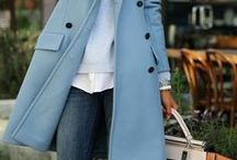 light blue coat / by S. Kru