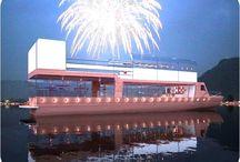 Concepts Prestige Boat Yachts / Concepts de construction ou de développement de bateau de types bateau caïque en bois passagers avec restaurant, bar, disco et animations - Voir : www.prestige-boat.com
